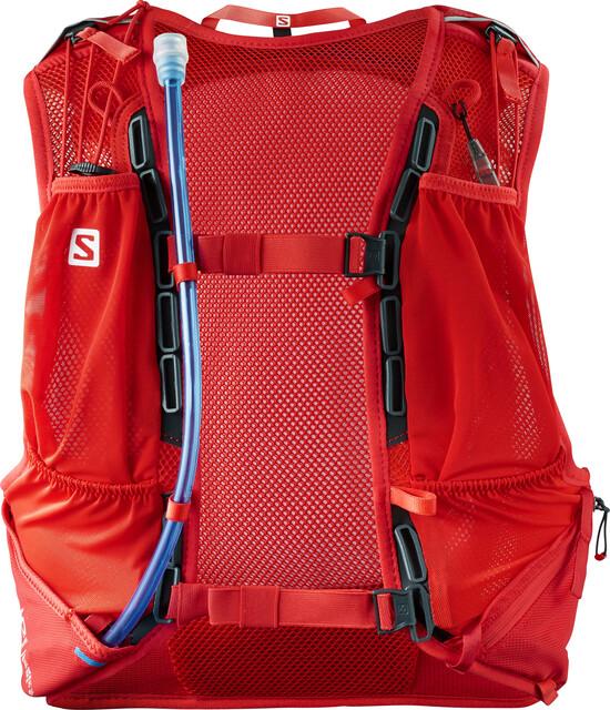Salomon Skin Pro 15 Backpack Set fiery red